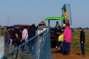 Fence maintenace  training