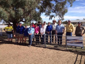 Group at Shear Outback dog day