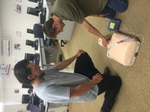 hands on first aid